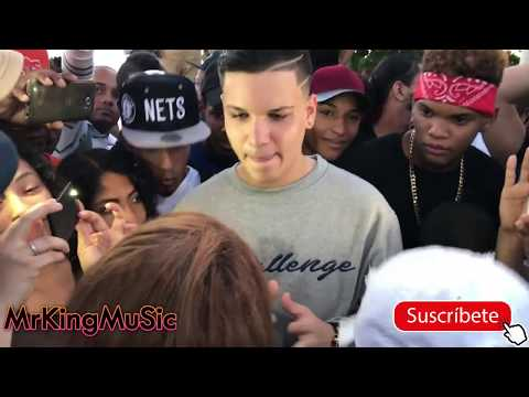 Rubia👩🏻 Vs Rubio👦🏻!! Klasico KND Vs Stephanie La Rubia - Batalla de FreeStyle en Guibia 2018