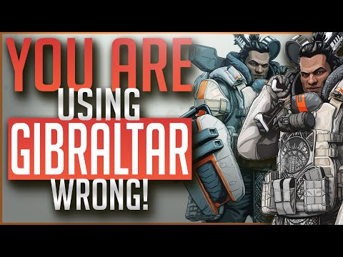 You Are Using GIBRALTAR Wrong | In Depth Legend Guide | APEX Legends