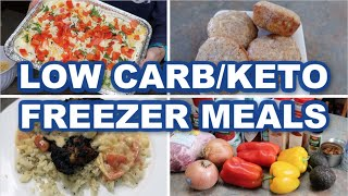 LOW CARB FREEZER MEALS | KETO RECIPES | FRUGAL FIT MOM AND JEN CHAPIN!