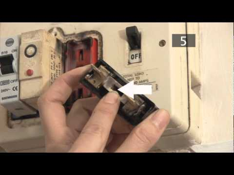 home fuse box wiring diagram 7 pin trailer truck side how to change a in traditional youtube