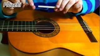 Bajando el hueso del puente - Guitarra española