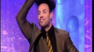 Jason Gardiner from Dancing on Ice 2011 lifts his hat revealing hair transplant