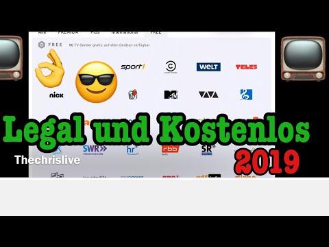 Kostenlos Online TV Sender Schauen Legal 2019 ( Auch Mobil Auf IPhone / IPad )