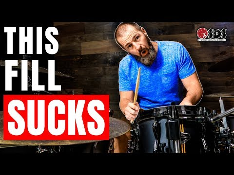 How To Make Your Drum Fills More Musical (DRUM LESSON)