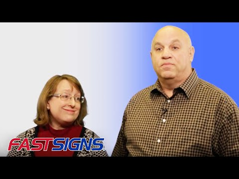 Husband and Wife Franchise Owners Are Banking on the Success of the FASTSIGNS Brand