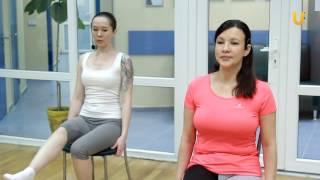 Заряд бодрости #39. Дыхательная гимнастика Оксисайз, комплекс №2 с использованием стула