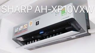 Máy lạnh Sharp Sharp AH-XP10VXW: kết nối Wi-Fi, làm mát nhanh và rộng