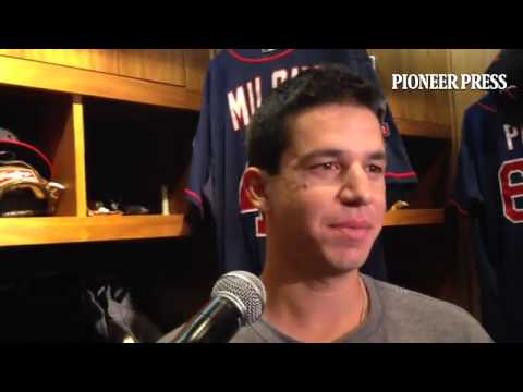 "Video 2: Tommy Milone on the ""frustrating part"" of getting knocked out in the 5th inning of a 20-6 #"