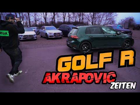 Golf 7,5 R Mit Akrapovic    AK47 Modus + Stage 1   Zeiten Messen