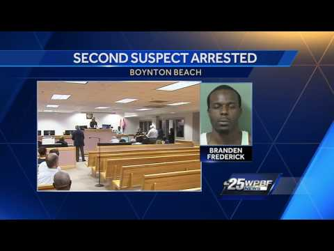 Second person arrested in fatal Boynton Beach shooting