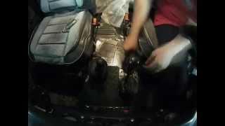 установка КПП Даймос на УАЗ Хантер за 4,5 минуты [ timelapse]