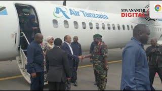 VIDEO: Dk Mwinyi, Maalim Seif kuanza ziara ya siku mbili Chato