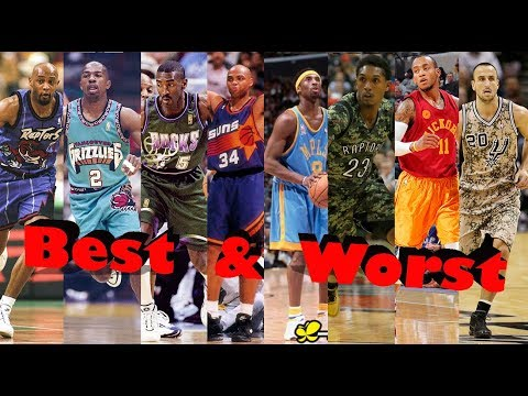 NBA Best And Worst Jersey By Team