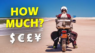COST TO TRAVEL THE WORLD by MOTORCYCLE (quick & dirty calculation)
