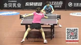 《乒乓球慢动作教学视频》第272集:陈梦王曼昱正反手弧圈球