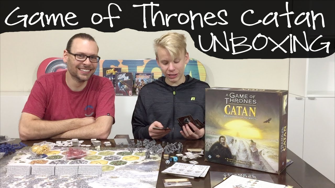 how to play catan game of thrones