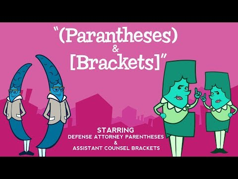 Parentheses And Brackets Song From Grammaropolis -