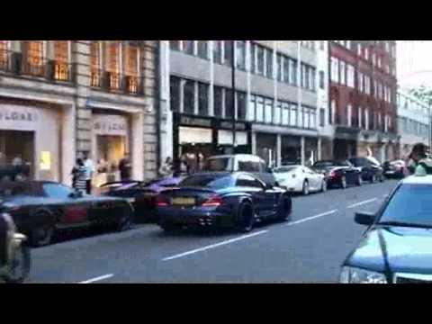 Thế Giới Tóc Độ - Dàn siêu xe khủng - London - Dan sieu xe