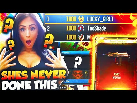 Download Youtube: SHE'S the #1 BO3 PLAYER & LEVEL 1000 ONLY missing this...!