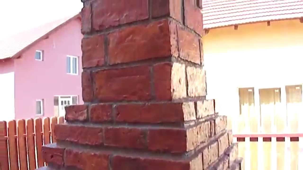 Gratar de gradina din caramida fabricata manual youtube for Gratare de gradina