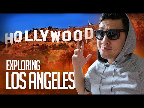 What to do in Los Angeles | Exploring Hollywood | Trying SHARK TANK  Restaurant