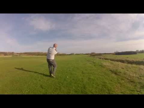 Tiger ward holes out from 110yds Leasowe 16th