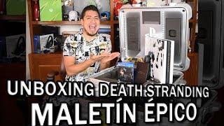 Unboxing Death Stranding (Maletin Épico de Kojima)