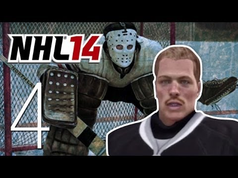 NHL 14 Live the GOALIE Life – Ep. 4: Into the Swing of Things