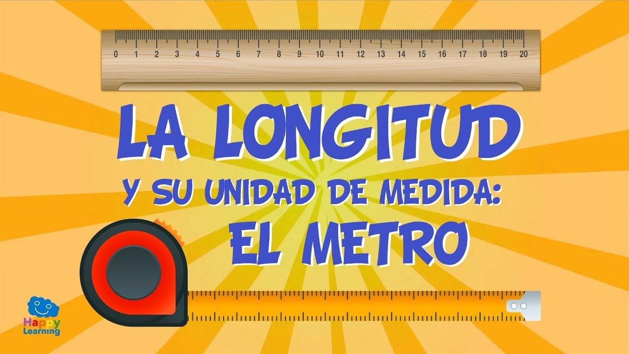 La longitud y su unidad de medida el metro v deos for Que medidas tienen los colchones