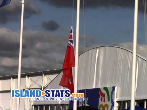 Bermuda Commonwealth 2014 Flag Raising