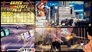 Grand Theft Auto GTA1, GTA2, GTA3, GTAIV, GTAV GTAVI ! Koniecznie obejrzyj do końca !! GTA 6 ???