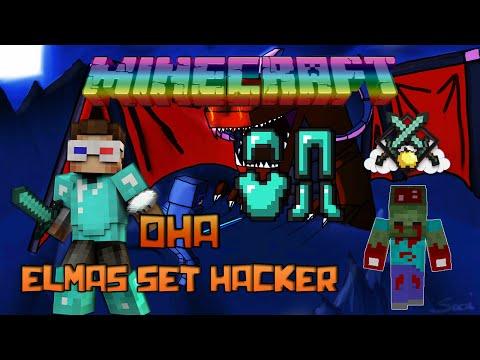 OHA UÇAN ELMAS SET HACKER! - Minecraft Sky Wars! - Minecraft Gökyüzü Savaşları!