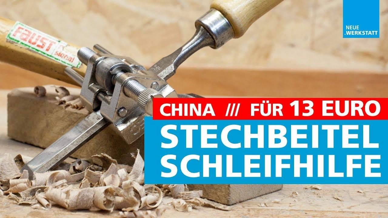 schleif-hilfe für stechbeitel & stemmeisen / hobel & stecheisen