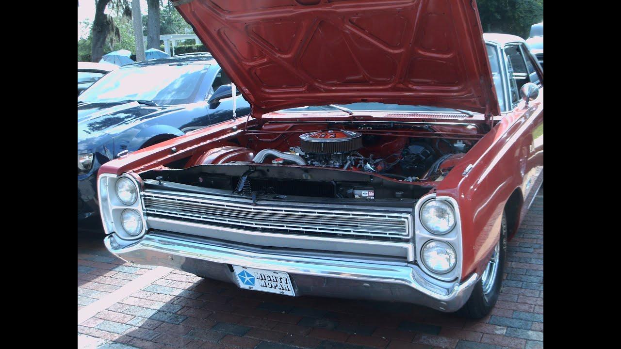 1968 Plymouth Fury III Two Door Hardtop RedBlk Longwood041313