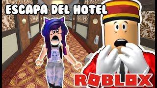OBBY ESCAPA DEL HOTEL EN ROBLOX | Hotel Escape Obby En Español