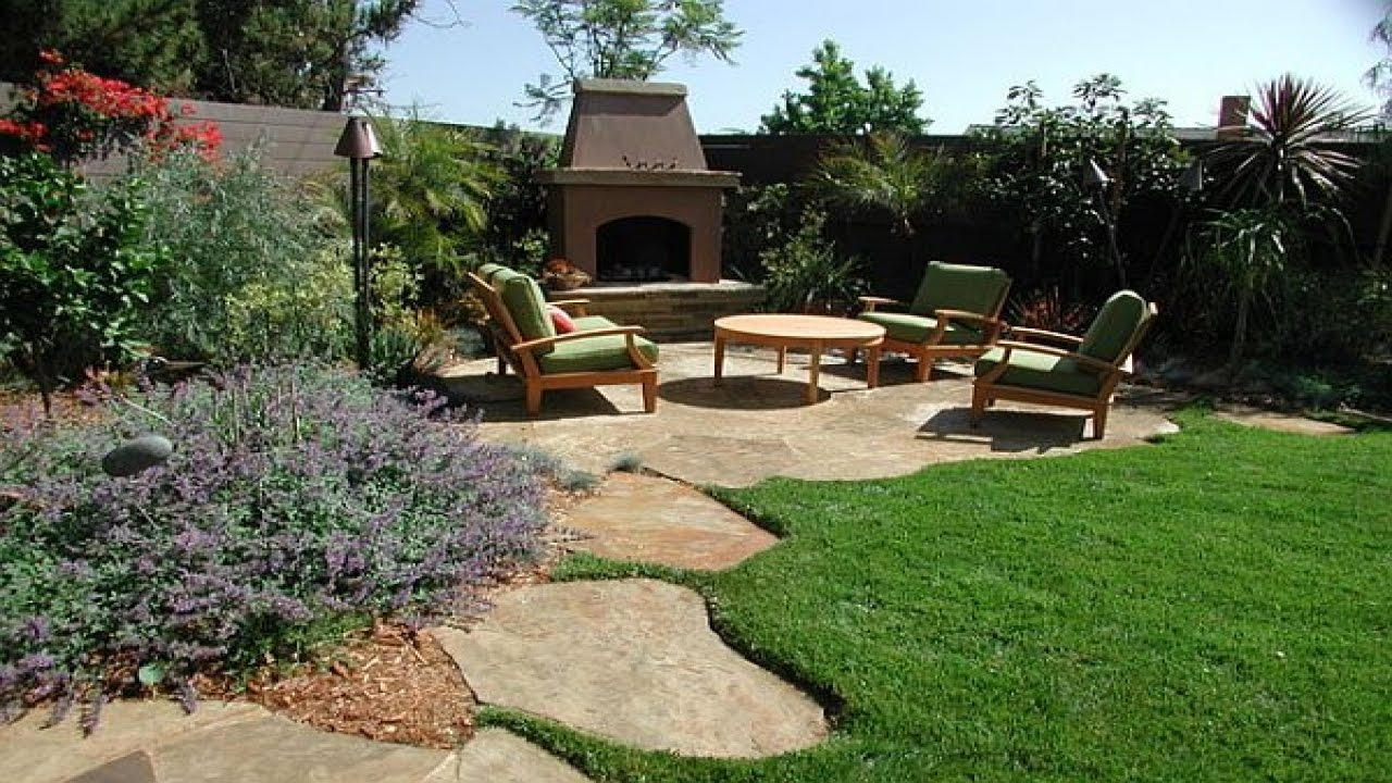 Awesome Stunning Backyard Landscaping Design Ideas Nice Look