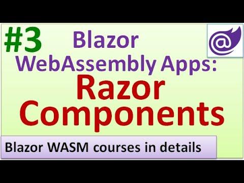 Blazor WebAssembly Components - #3