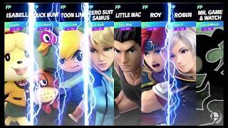 Super Smash Bros Ultimate Amiibo Fights Request #673 Smashing at Skyloft