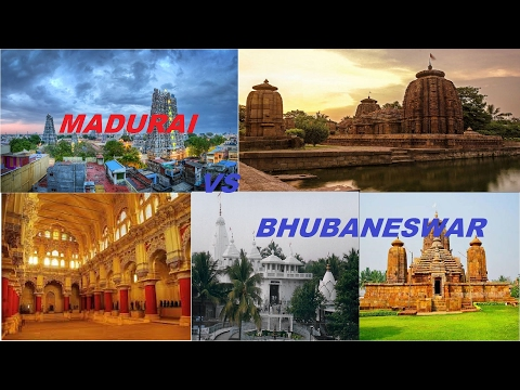 Madurai vs Bhubaneswar | Temple city of india madurai vs Bhubaneswar | madurai visting place