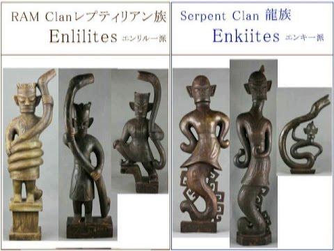 2264(6R)Answer to Sanxingdui in Mystery謎の三星堆・はやし浩司のアンサーそれはエンキとエンリルだった Enlil and Enki in China by Hir