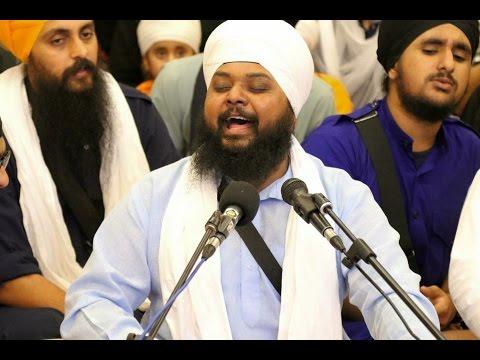 (Raag Basant) Tin Basant Jo Har Gun Gaai (With Shabads Lyrics) - Bhai Anantvir Singh Ji LA