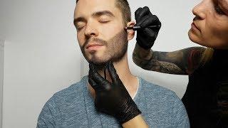 ASMR Beard Completion / Make Up