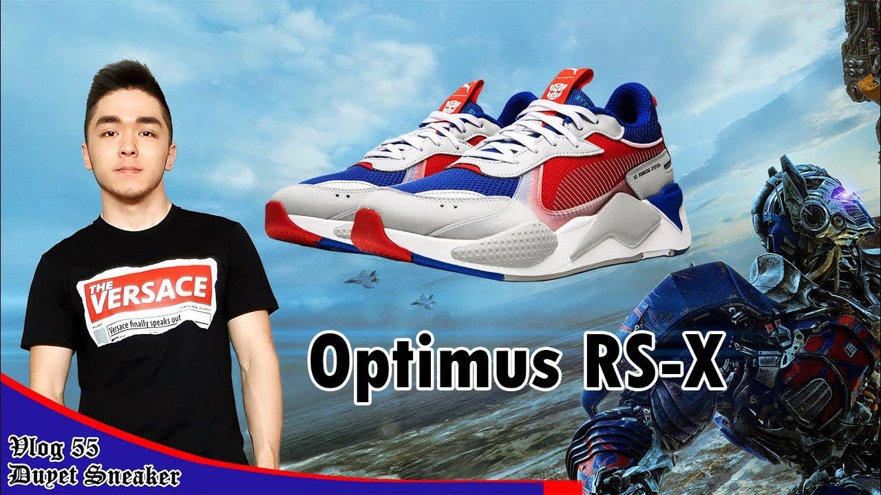 Review giày biến hình TRANSFORMERS x PUMA RS-X Optimus Prime | RS-X Toys | Vlog 55 – Duyet Sneaker