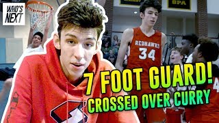 """The Most DIFFERENT Prospect Ever Seen!"" 7'0"" Chet Holmgren Plays Like A GUARD! Inside His Life 😱"