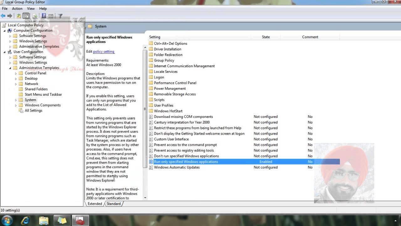 add program to start menu windows 7 all users