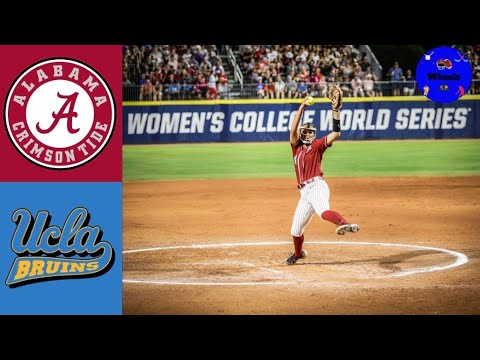Montana Fouts Perfect Game at the WCWS!   #3 Alabama vs #2 UCLA   2021 College Softball Highlights  