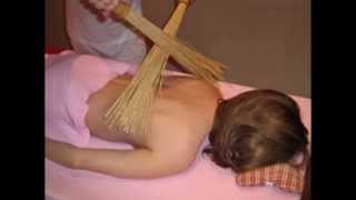 видео Бамбуковый веник для бани как пользоваться