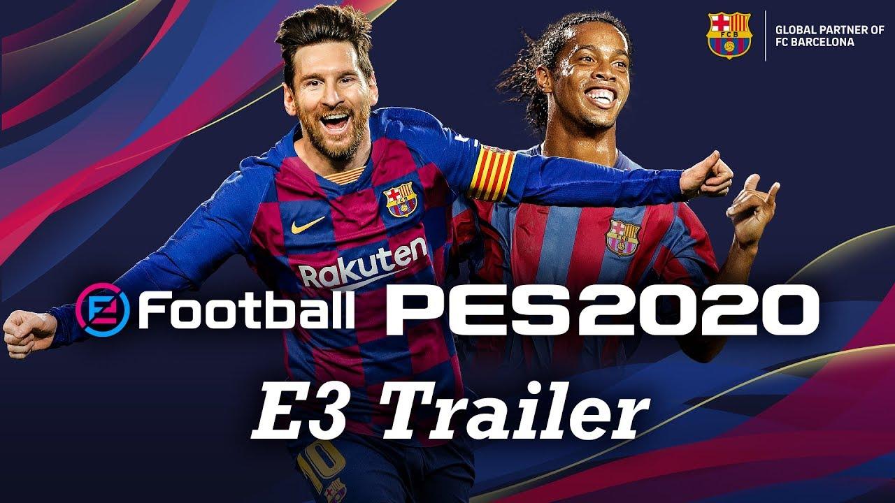 PS4™ I PES 2020 E3 트레일러