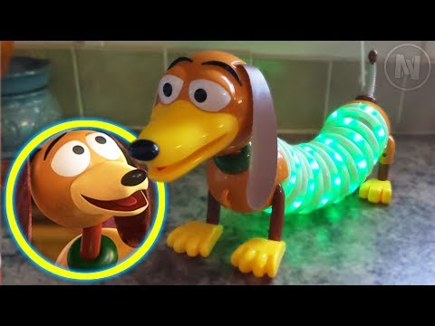 Disney / Pixar Toy Story 4 Slinky Dog Neon Lamp Light Review