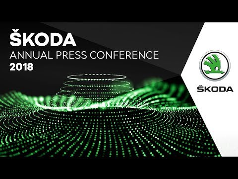 ŠKODA BRAND: Annual Press conference 2018